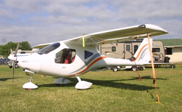 A new light sport aircraft was