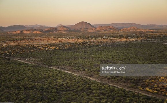 Aerial Images Of Otjiwarongo
