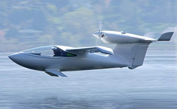 AKOYA amphibious airplane by