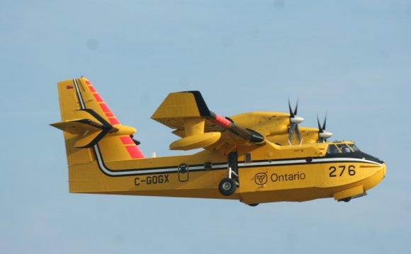 Amphibious aircraft