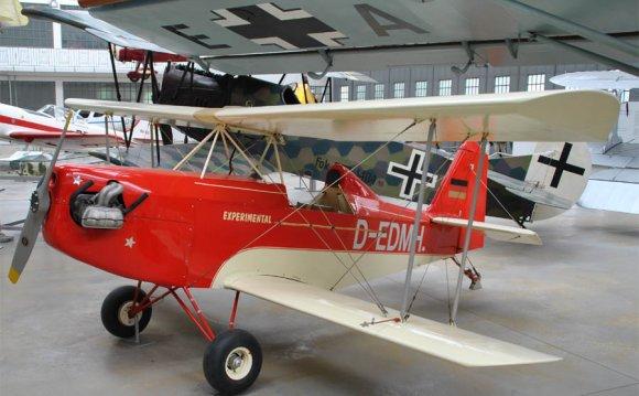 A small experimental aircraft