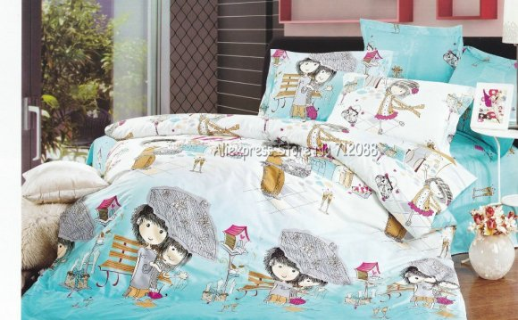 Home textile 4pc bedlinen