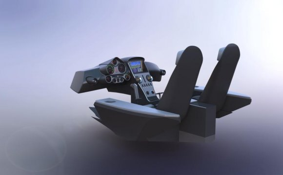 Icon A5 Interior - SOLIDWORKS