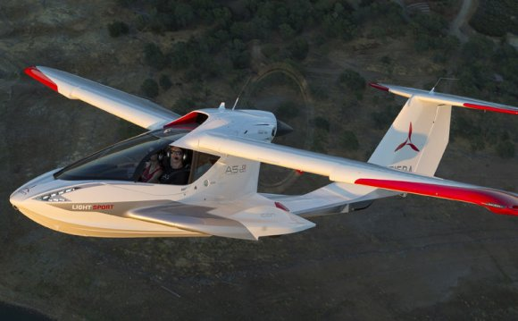 Icon A5: A Ride in the Tesla