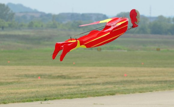 Model aircraft show turns up