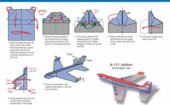 Paper Airplane Fold-a-Day 2015