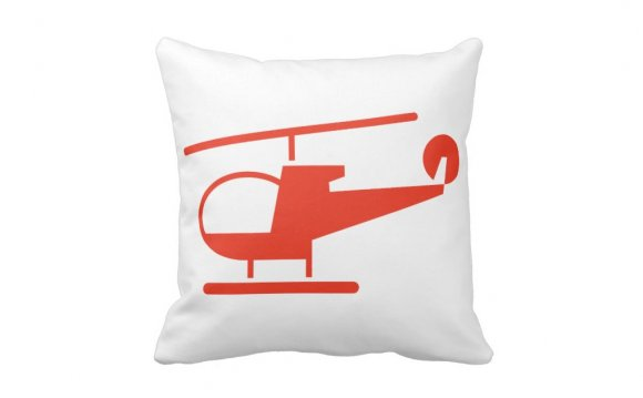 Red helicopter icon,aviation