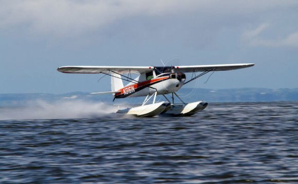 Of landing on water