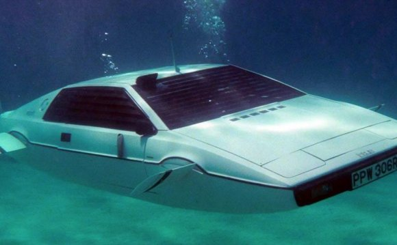 Lotus Esprit Sub Spy Who Loved