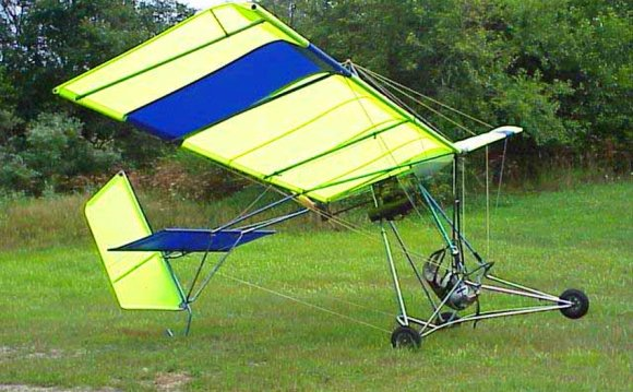 Fixed wing ultralight