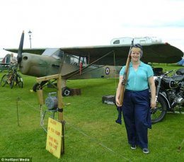 Attraction: Enthusiasts are drawn to the plane, which has been displayed at a variety of events across the country
