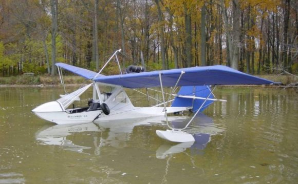 Amphibious ultralight