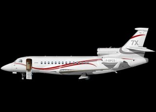 Dassault Falcon 7x Owner Bill Gates