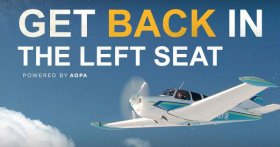 Get Back in the Left Seat with AOPA