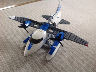 How to Make a Lego Seaplane