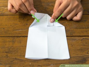 Image titled Fold Paper Airplanes Step 12