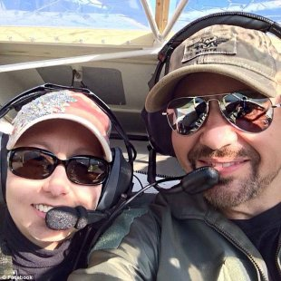 Killed: Jason Reid Spinks of Orlando, (right) was killed when the plane he was piloting crashed. There was no immediate word on what caused the crash. The NTSB will investigate