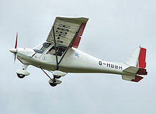 Light Sport Airplane in flight