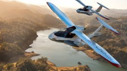 The Icon A5 can cruise to a little over 300 metres.