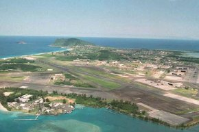 The Marine Corps Air Station at Kaneohe Bay maintains and operates the airfield facilities of Marine Corps Base Hawaii in support of the readiness and global projection of DoD and military operating forces. (U.S. Marine Corps photo)