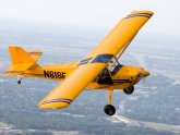 Light Sport Aircraft with folding wings