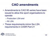 LSA requirements