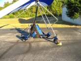 Two person ultralight aircraft