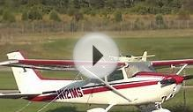 9/28/13 A unique Homebuilt aircraft lands