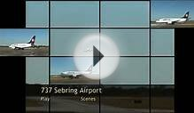 737 lands at Sebring Airport Authority
