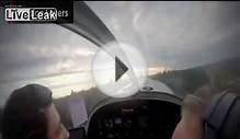 Cockpit view of deadly small plane crash
