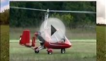 Craig McPherson flying his Autogyro MTO Sport Gyroplane