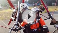 FLYING WITH ULTRALIGHT AIRCRAFT TRIKE - ABDULRAHMAN SALEH