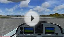 FSX Just Flight CZAW SportCruiser (Piper Sport) Take off