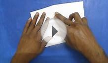 How To Make a Paper Airplane - best paper plane in the