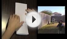 How to Make The Best Stunt Paper Airplane on Earth