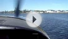 Landing on a water plane