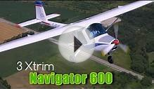 Navigator 600 light sport aircraft.