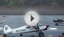 near impossible bush plane landing