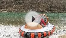 New Personal Hovercraft MAD-81 work&fun flying boat over