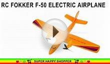 RC Fokker F-50 Electric Foam Airplane - Best Plane Flyer Kit