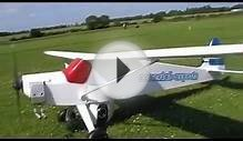 Sig Rascal 110 onboard RC camera plane. FOR SALE.