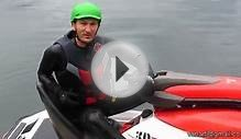 Sky Ski skidder behind 3d Sea Doo single jet ski on Cultus