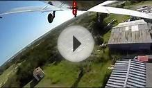 Small single engine plane crash with gropro cameras on it