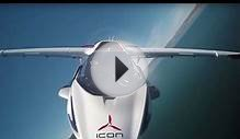 Tesla-like Icon A5 seaplane reaches 110 mph