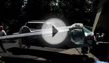 Ultralight Home Built Aircraft Demonstrating Folding wings