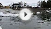 Water to Land in Lake Amphibian Plane, Aleknagik Alaska