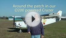 Zenith CruZer with O200 engine: Start, fly, park!