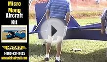 Zing all wood ultralight aircraft, built from plans or